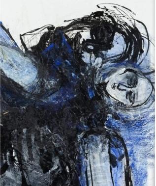 IN BLUE